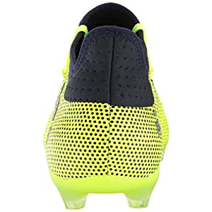 adidas Originals Men's X 17.2 Firm Ground Cleats Soccer Shoe, Solar Yellow/Legend Ink/Legend Ink, (10 M US)