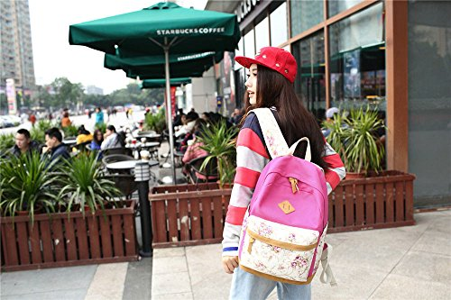 da FashionGirls 28 16CM viaggio Khaki New red Zaino Rose 41 pCq6nU