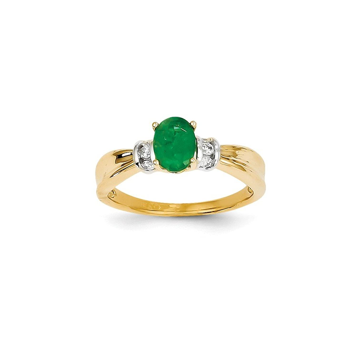 dp gold bridal emerald amazon band anniversary mm ca katarina heat jewelry size treated yellow