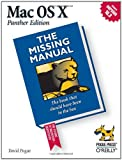 Mac OS X: The Missing Manual, Panther Edition, David Pogue, 0596006152