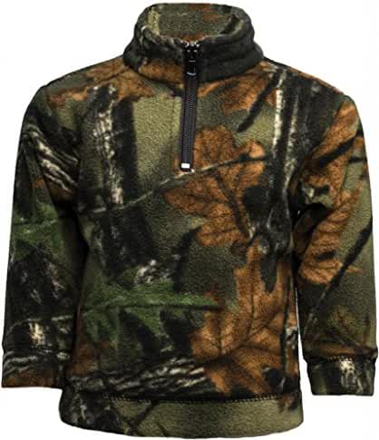 Trail Crest Infant 1/4 Zip Camo Pullover
