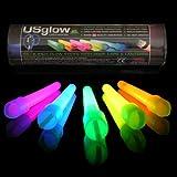 """50 6"""" Glow Sticks, Premium Quality"""