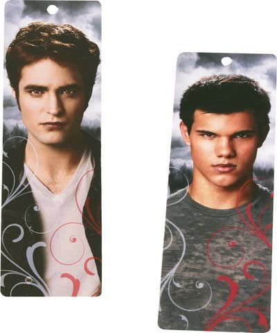 Twilight Eclipse Party Favors - Bookmarks