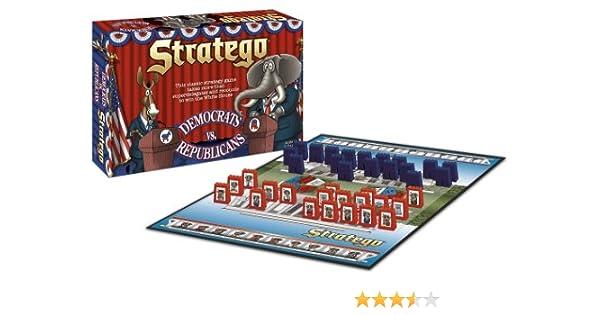 USAopoly Democrats vs Republicans Stratego: Amazon.es: Juguetes y juegos