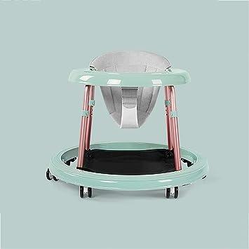 LFY Andador para bebés con 6 Ruedas mudas de Elefante, andadores antivuelco multifunción: Amazon.es: Hogar
