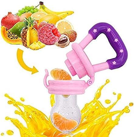 4 PCS Alimentaires Fruits Frais Nourrisseur De Dentition Grignoteur Jouet De Dentition T/étine Nourrissant Sucette B/éb/é Fournitures Jouets