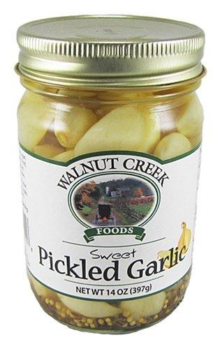 Walnut Creek Amish Country Sweet Pickled Garlic 14 Oz Jar