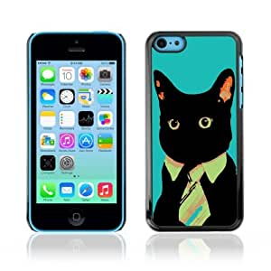 YOYOSHOP [Business Cat] Apple iPhone 5C Case