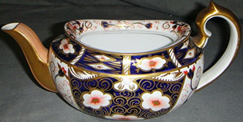 Royal Crown Derby Imari - Royal Crown Derby Traditional Imari Teapot Without Lid