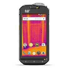 Caterpillar CAT S60 32GB Dual-SIM Factory Unlocked Thermal Imaging Rugged Smartphone - International Version with No Warranty (Black)
