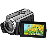 Video Camcorder 1080P Full HD WIFI Digital Infrared Night Vision DV HD Digital Zoom Camera 8 Million Pixels 3 of Touch Type Screen 16 Times Zooming Digital Video Camera
