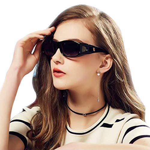 (Wear Over Glasses Sunglasses - Polarized - Fit Over Prescription Glasses UV Protection Sunglasses)