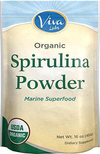 Viva Labs Organic Spirulina Po...