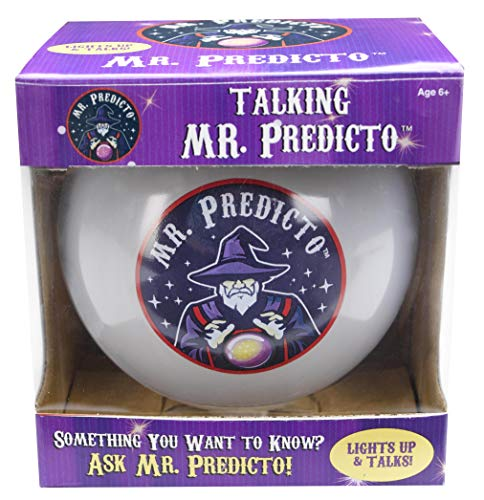 Mr. Predicto Fortune Telling Ball - The Fun Way to Discover Your Future - Ask a YES or NO Question & He'll Magically Speak the Answer - Like a Next Generation Magic 8 Ball - Fortune Teller Toy]()