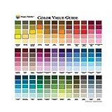 paint colors for walls Color Wheel Magic Palette Artists Color Value Guide,Multi