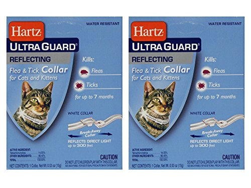 Set of 2 Hartz UltraGuard Flea & Tick Collar for