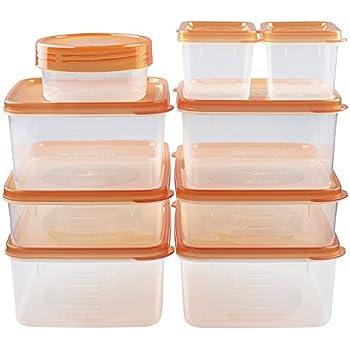 Amazoncom Wholesale 48 fl oz BPA Free Square Food Storage