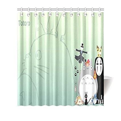 Amazon Famous My Neighbor Totoro Shower Curtain Fit 6072