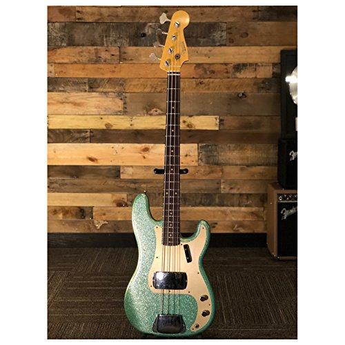 (Fender 1959 Journeyman Relic Aged Sea Foam Custom Built Limited Precision Bass w)