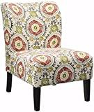 Ashley Furniture Signature Design - Honnally Accent Chair - Contemporary Style - Floral (Renewed)