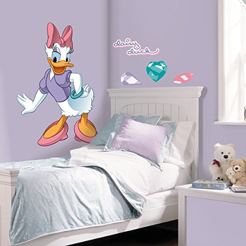 RoomMates Disney Daisy Duck Peel and Stick Giant Wall Decal -