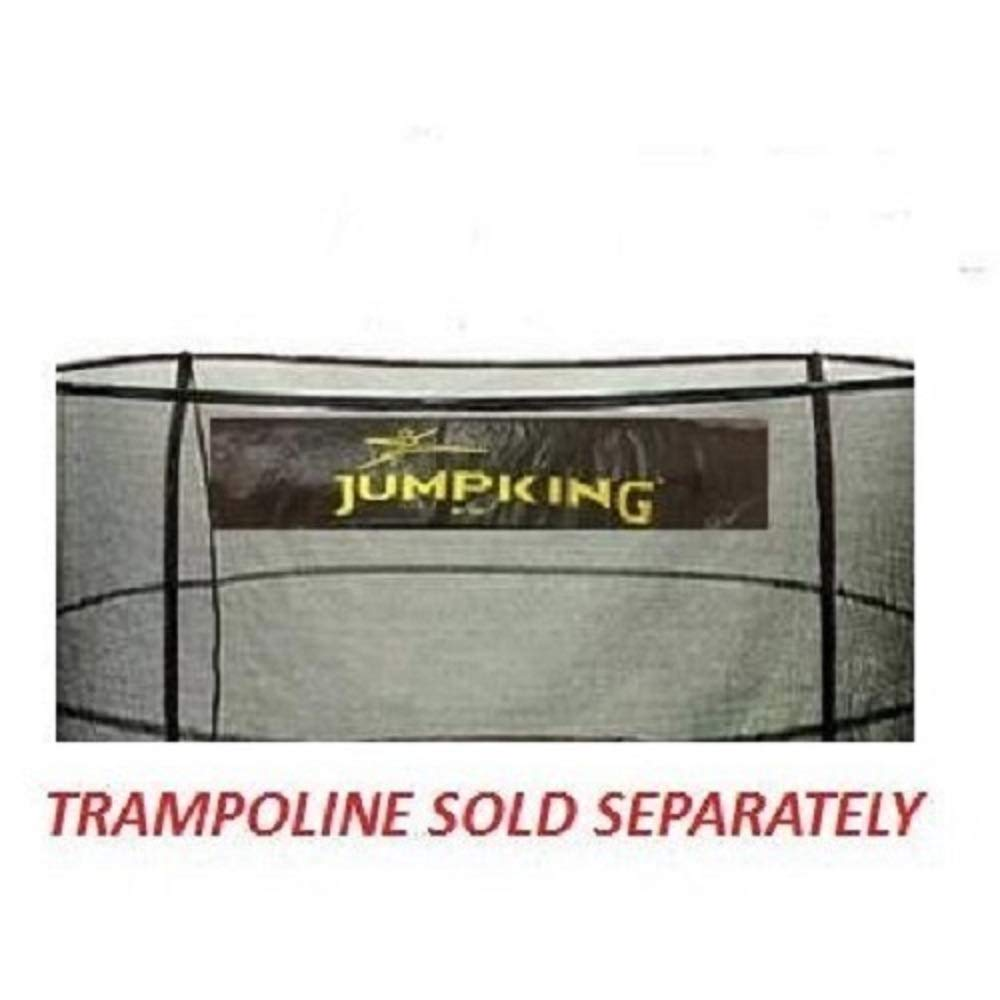 JumpKing 15' Enclosure Net for 5 Poles for 7'' Springs with JK Logo by JumpKing