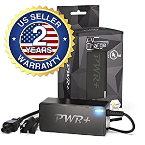 [UL Listed] Pwr+ 6.5 Ft Extra Long 12V AC Adapter for Bose SoundLink-Mini 359037-1300, 371071-0011; Bose-SoundDock-XT 626209-1300; PSA10F-120 Bluetooth Speaker Charger-Power-Cord Plug
