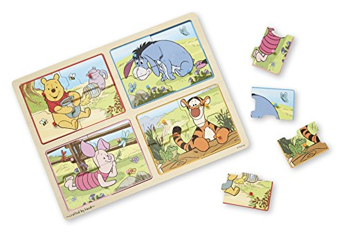 Tigger Toy (Melissa & Doug  Winnie The Pooh My First Wooden Peg Puzzle (16 Pieces))