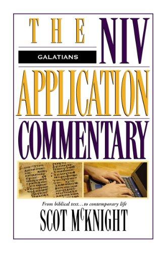 Niv Application Commentary:Galatians
