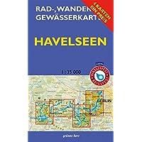 Rad-, Wander- und Gewässerkarten-Set: Havelseen: Mit den Karten: Havelseen 1: Brandenburg/Havel, Havelseen 2: Beetzsee bis Ketzin, Havelseen 3: ... und Gewässerkarten Berlin/Brandenburg