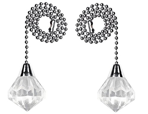 Westinghouse - Acrylic Diamond Pull Chain (2 Pack) ()
