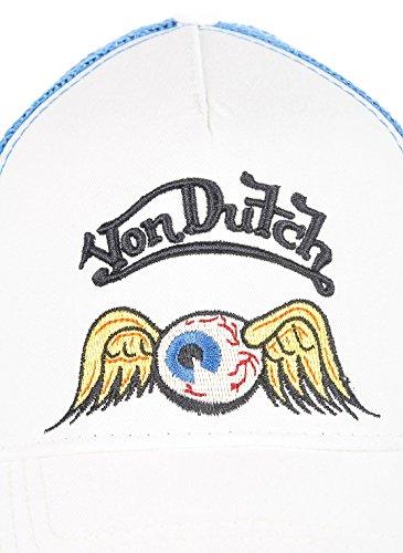 para Von Dutch Blue béisbol de Taille White Hombre Blanco Unique Gorra g6p6qxI