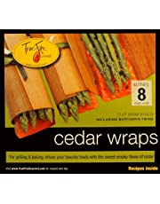 TrueFire Gourmet TFWraps8-8 Cedar Wraps, 7.25 x 8 Inch, 8 Count (Pack of 1)