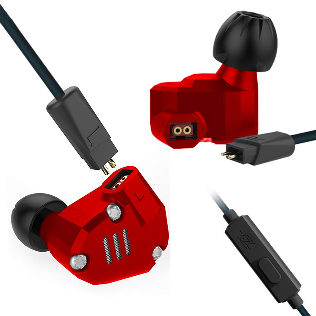 2BA High Fidelity Extra Bass Earphones with Detachable Cable No ...