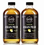 Crafted Cocktails Asian Pear Shrubs, Use As Cocktail Enhancer, Soda Flavoring or Culinary Ingredient, Pack of 2