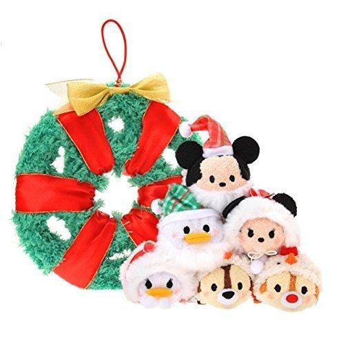 Disney Exclusive Tsum Tsum 3.5 Inch Mini Plush set of 6 doll 2015 Christmas Lease Mickey & Friends by Disney Interactive Studios