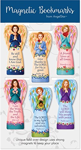 AngelStar Angel Magnetic Bookmarks 6-Pack