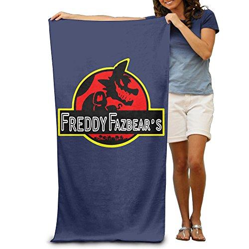 LCYC Five Nights Jurassic Poster Adult Vibrant Beach Or Pool Bath Towel (Shazam Costume Amazon)