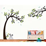 3D Huge Aegean Sea & Castle Wall Decals Fake Windows Landscape Environmental Protection Removable Wall Decals Window View Wall Art Wallpaper Mural Wall Sticker Peel & Stick