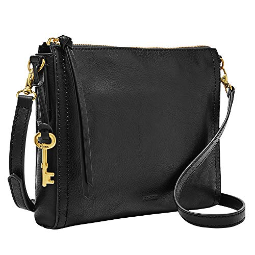 Fossil Emma E/W Crossbody Bag, Black