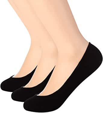 RSZ Unisex No Show Sock Non Slip Flat Invisible Loafer Boat Line Low Cut Socks for Women And Men 6 Pairs