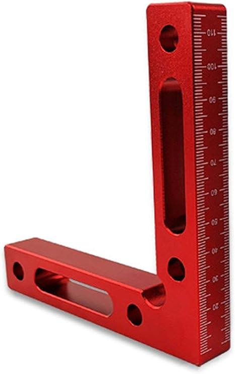 Herramientas de carpinter/ía de precisi/ón Sairis 120 mm L-Squre Minisquare Mini Herramienta de medici/ón de Cuadrados de sujeci/ón Cuadrados de posicionamiento de 90 Grados