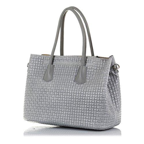 Bag Tote Artegiani Grey Women's Turquoise Firenze xqRUB8Pw