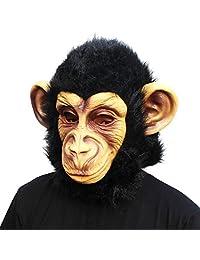 CreepyParty Deluxe Novelty Halloween Costume Party Latex Animal Monkey Mask