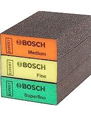 Bosch Professional 3x Expert S471 Standard klossar (69 x 97 x 26 mm, Grovlek Medelgrov/Fin/Superfin, tillbehör Handslipning)