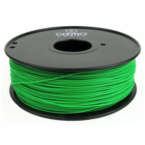 Gizmo Dorks 1.75mm ABS Filament 1kg / 2.2lb for 3D Printers, Green Grass