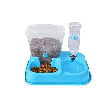 NIOHIHFF 2 In1 Alimentador De Mascotas,Dispensador De Alimentos Alimentador De Mascotas Dispensador De Agua