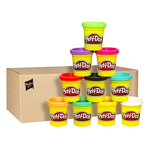Best Play-Doh Case of Colors, Pack of 10 Includes Ten 2-ounce Cans #1