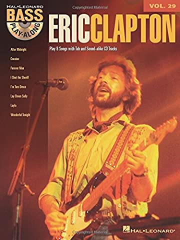 Eric Clapton: Bass Play-Along Volume 29 - Eric Clapton Songbook