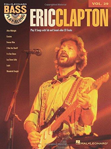 Bass Guitar Tab Cd (Eric Clapton - Bass Play-Along Volume 29 (Book/Cd))